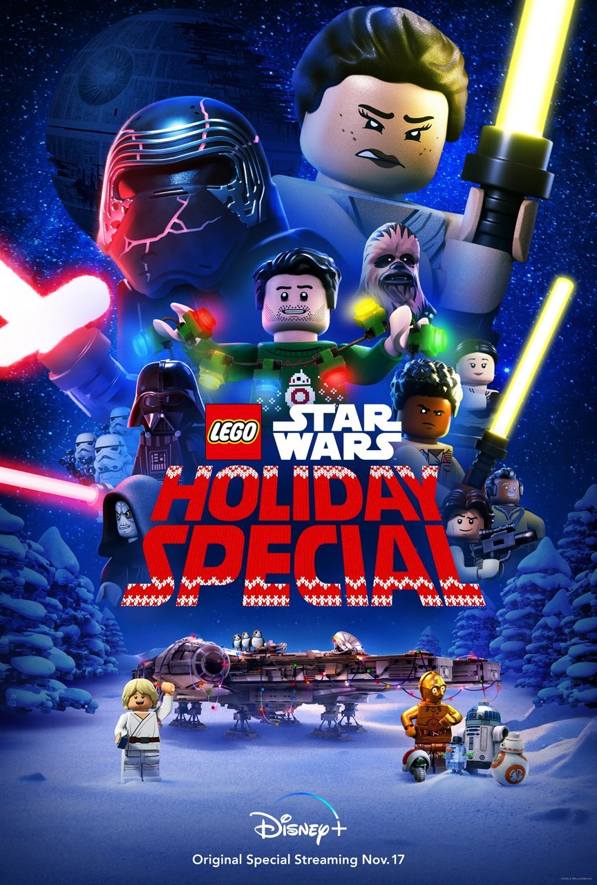 star wars lego holiday special poster