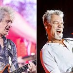 Brian May and Eddie Van Halen