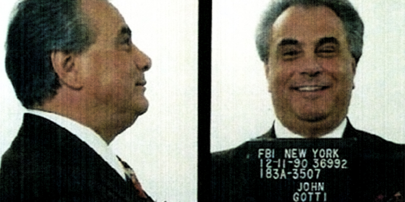 John Gotti Mugshot Joe Mantegna on Landing The Godfather Part III: The Pizza Guy Heard About It Before My Agent