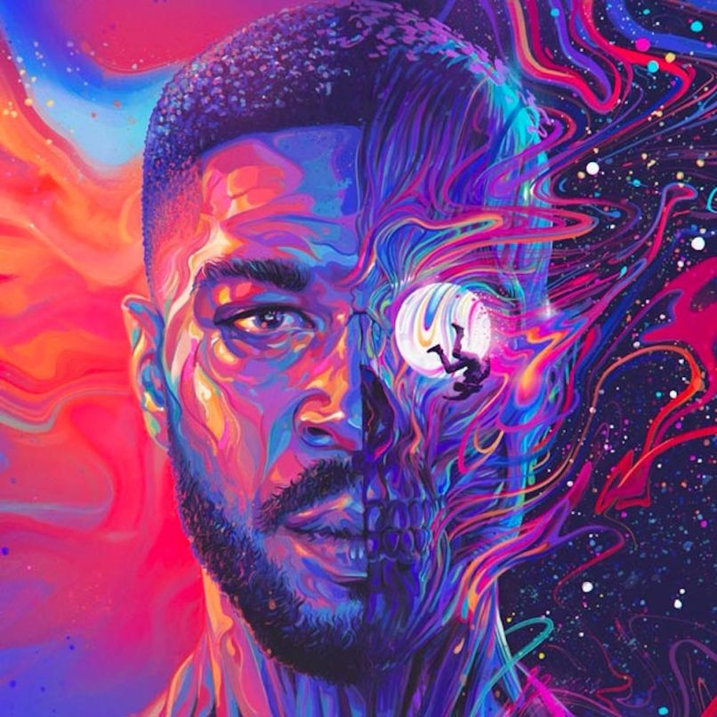 Kid Cudi Man on the Moon III: The Chosen album artwork cover art