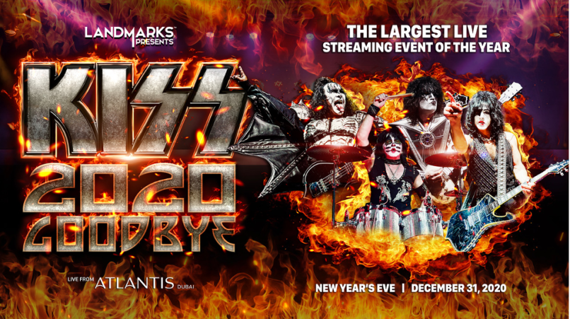 kiss goodbye Paul Stanley on Kiss Record Breaking New Years Eve Show