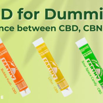 CBD for dummies CBN CBG Blog Banners