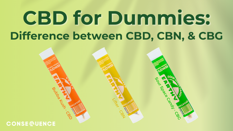 CBD for dummies CBN CBG Blog Banners