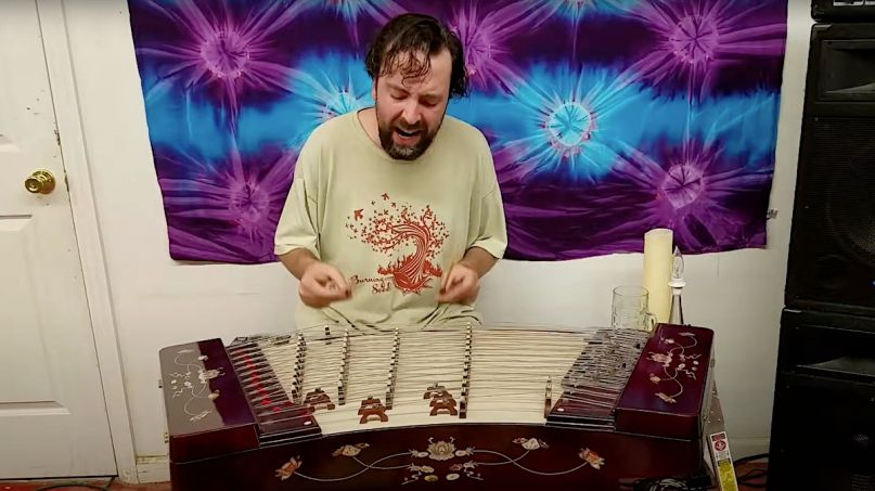 Tool and Nirvana songs covered on Chinese dulcimer