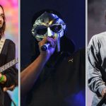 Joe Biden inauguration playlist Kamala Harris Spotify stream music Tame Impala (photo by Philip Cosores), MF DOOM (photo via Getty), and Kendrick Lamar (photo by Philip Cosores)