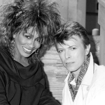 Tina Turner and David Bowie, Courtesy of David Bowie