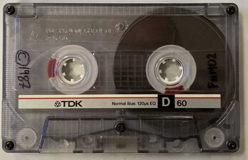 on a friday tape other side Early Radiohead Demo Hits Auction Block with Three Unreleased Songs